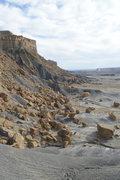 Rock Climbing Photo: Looking east towards the moon area.