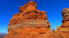 Rock Climbing Photo: Bell Rock summit spire.