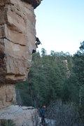 Rock Climbing Photo: heading up shark bait
