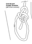 Rock Climbing Photo: Double end-bound bowline