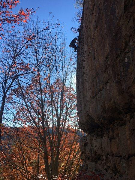 Rock Climbing Photo: Cold Shoulder