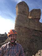 Rock Climbing Photo: #14 King Kong in maple Canyon w/ Tanner