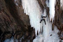 Rock Climbing Photo: Ouray 2005