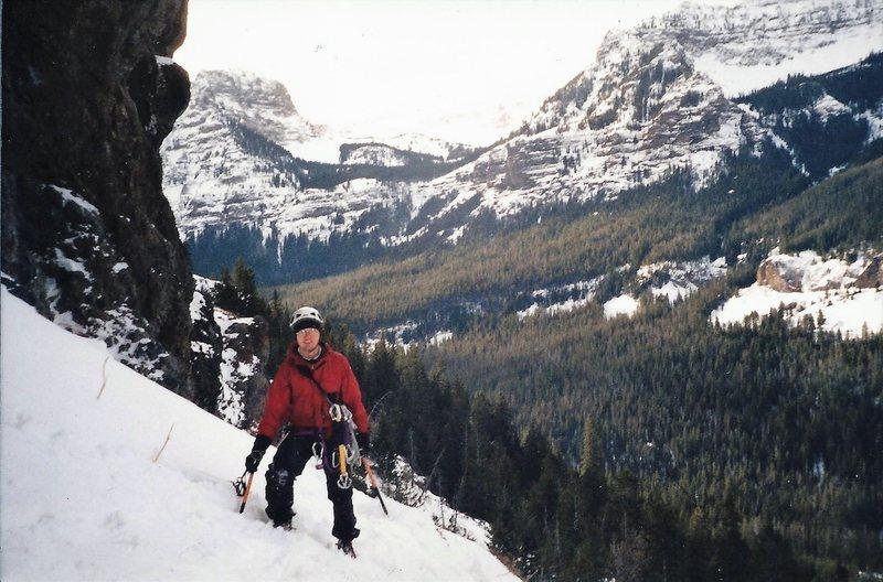 Rock Climbing Photo: Myself In Hyalite 2002