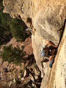 Rock Climbing Photo: Wes from CTA making Yellow Pages look super rad.