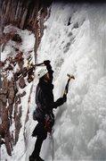 Rock Climbing Photo: Matt Horrocks on GWI 2002/3.
