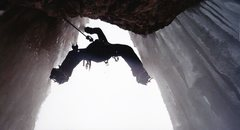 Rock Climbing Photo: Another Mixed Line, Logan Farmed Area, 2002