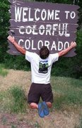 Rock Climbing Photo: Hanging out in Colorful Colorado