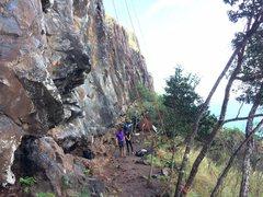 Rock Climbing Photo: Random busy day