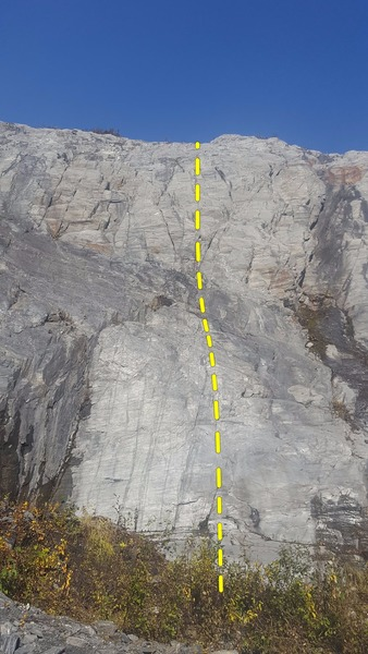 This is a fun single pitch route that would be a great place to practice placing gear.