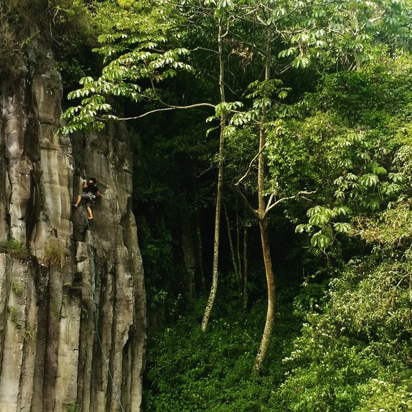Rock Climbing Photo: Mana love this place!