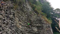 "Rock Climbing Photo: Evening TR run on a balancy 5.11 known as ""bu..."