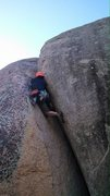 Rock Climbing Photo: Wei Ming making it look easy.