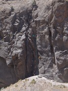 Rock Climbing Photo: View of all you can eat wall with Cinderella direc...
