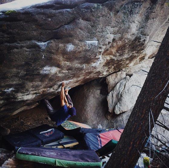 Rock Climbing Photo: Montana Beef