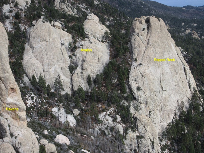 Rock Climbing Photo: View east from the Fortress
