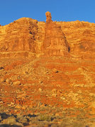 Rock Climbing Photo: The tower seen from John's Canyon Road.