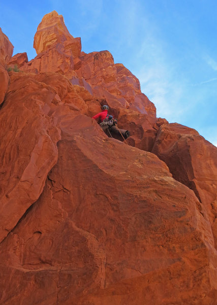 Rock Climbing Photo: Emily Reinsel on P2.
