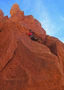 Rock Climbing Photo: Emily Reinsel on P2.