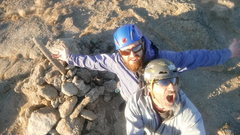 Rock Climbing Photo: Leigh and Ty November  summit #74