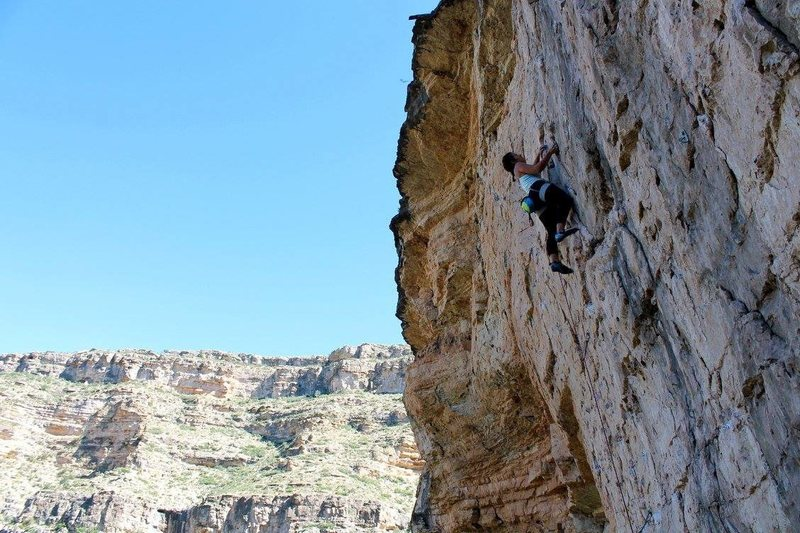 Cutter (5.11c) at Mad Cow Wall