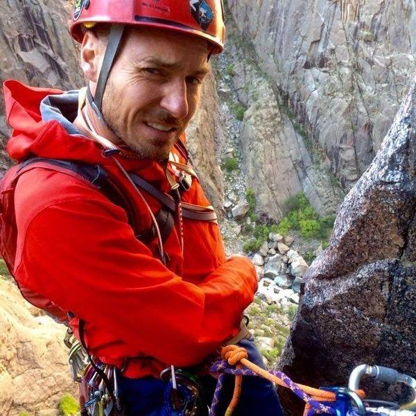 Rock Climbing Photo: At The Black