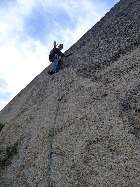 Rock Climbing Photo: Mike Arechiga on, Prime Rib. 5.9