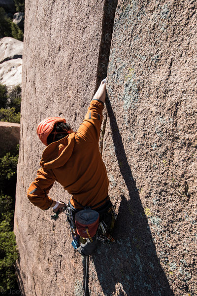 Rock Climbing Photo: The description said 'clean' and it is rig...