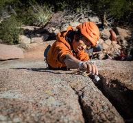 Rock Climbing Photo: Wei Ming on Kryptonite