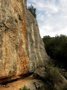 Rock Climbing Photo: Looking toward the right side of the sector Gavran...