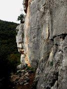 Rock Climbing Photo: Looking towards the left side of the Gavranik crag