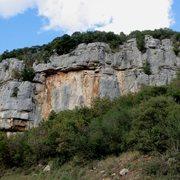Rock Climbing Photo: Right side of the Gavranik sector at Limski Kanal....