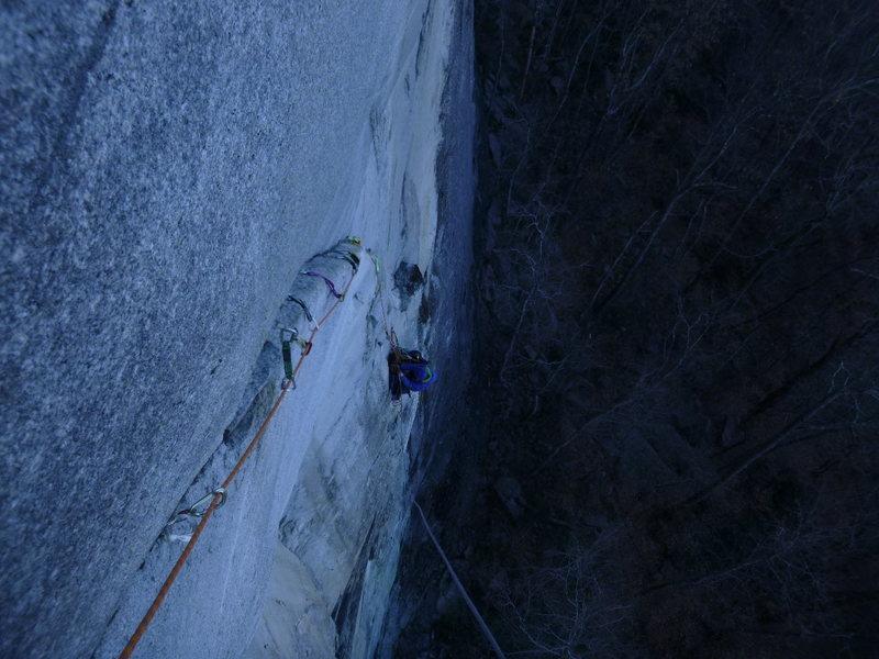 Rock Climbing Photo: Synapse Ramp