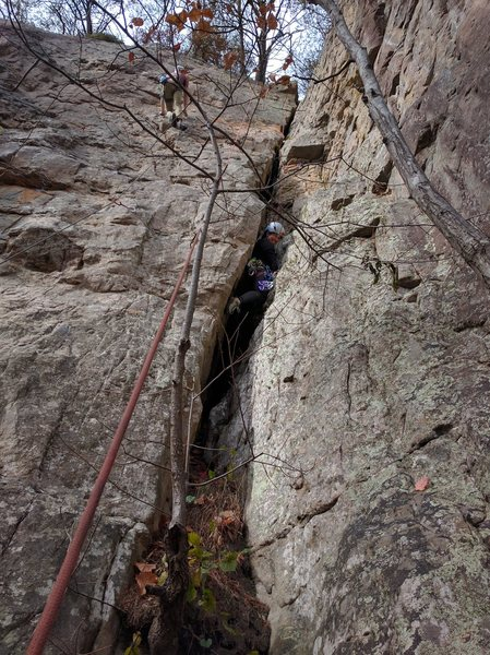 Rock Climbing Photo: Ahhh...the wonders of the human body: so much camm...