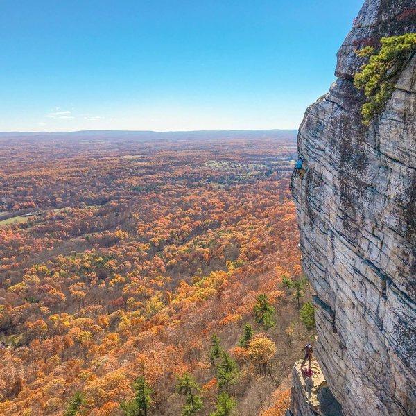 Rock Climbing Photo: first time on High E