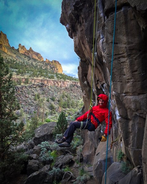 Rock Climbing Photo: rope rescue