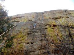 Rock Climbing Photo: Toproping between Magician's Apprentice and Re...