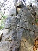 Rock Climbing Photo: Follow crack to top.