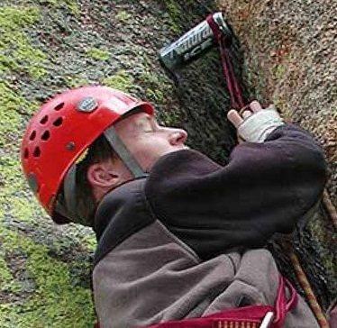 Rock Climbing Photo: Bio headshot.
