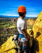 Rock Climbing Photo: taking in the view