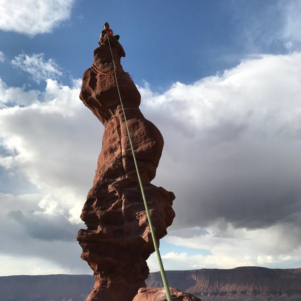 Rock Climbing Photo: Ancient Art, Moab Utah