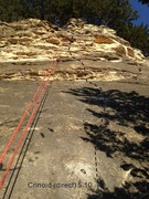 Rock Climbing Photo: Use plenty of chalk and a bouldering pad or stick ...