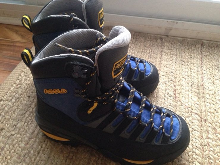 Rock Climbing Photo: Asolo boots