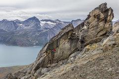 Rock Climbing Photo: Benjamin Bouissou Master and Commander  8B FA  Cre...