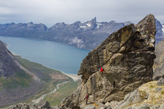 Rock Climbing Photo: Benjamin Bouissou  Le 8 EXPE 2016 Gilles Puyfages ...