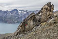 Rock Climbing Photo: Benjamin Bouissou Le 8 Expe 2016 Gilles Puyfages P...