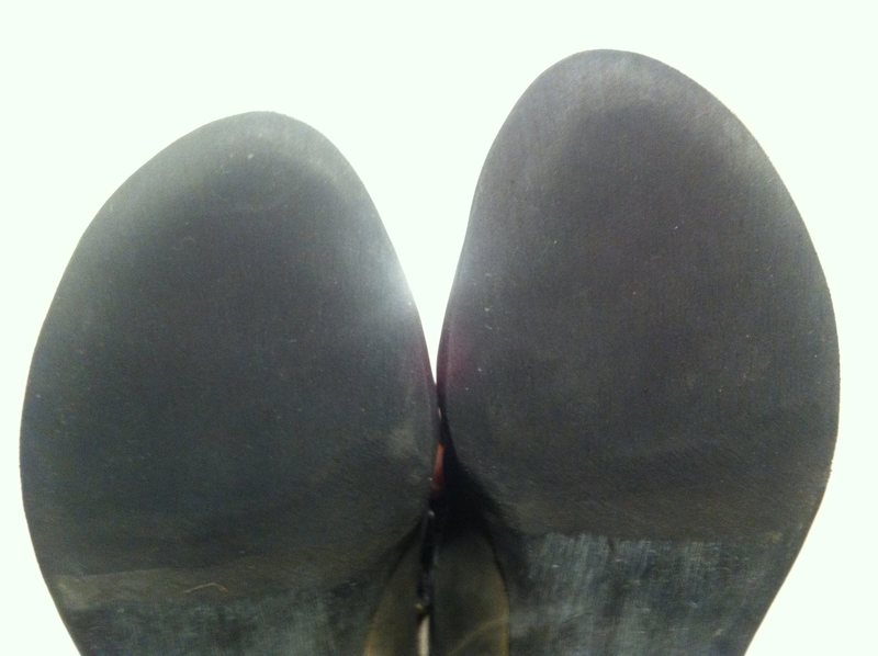 Rock Climbing Photo: New shoe resole