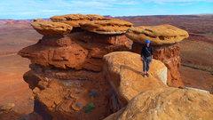 Rock Climbing Photo: Near where Boracho Grande tops out on the broken u...