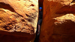 Rock Climbing Photo: A canyoneering style OW descent works to get off t...
