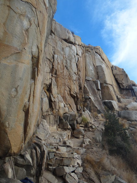 Rock Climbing Photo: cool spot in sd